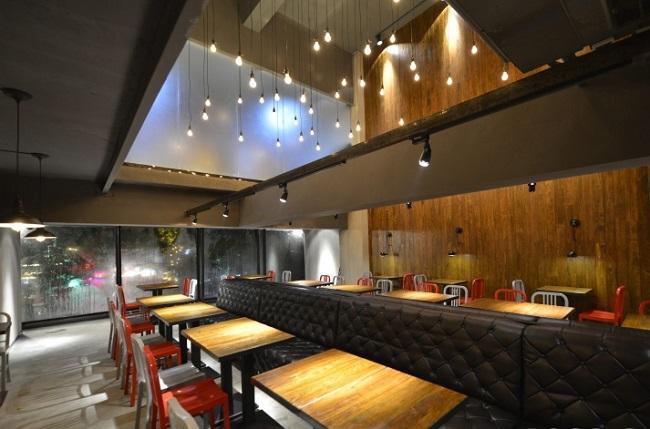 衡阳夏里巴人餐厅室内设计(湖南)